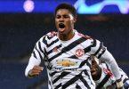 Champions League: Marcus Rashford trifft beim Sieg von Manchester United in Paris