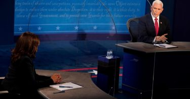 TV-Duell in den USA: The Pence vs. Harris im Live-Ticker