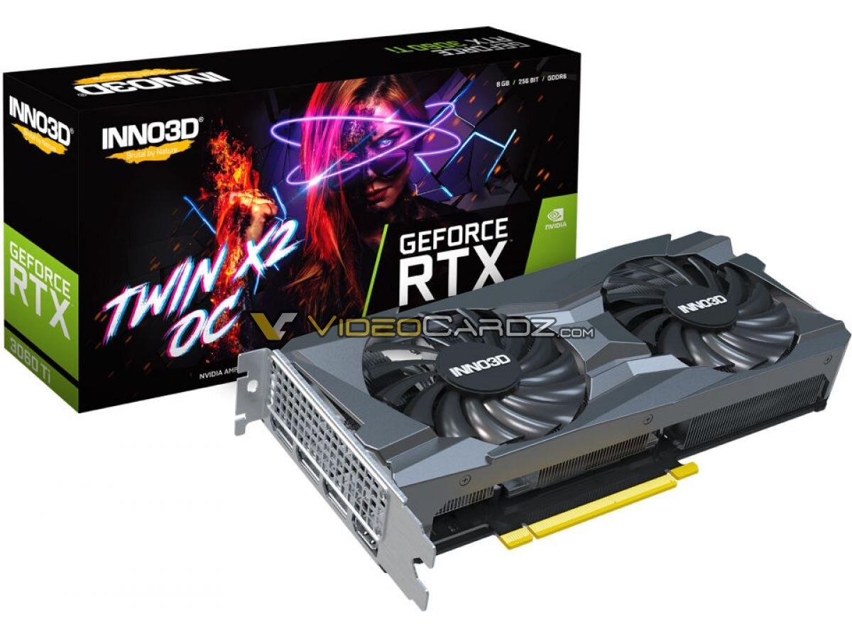 Inno 3D GeForce RTX 3060 Ti TWIN X2