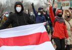 Proteste in Belarus: Polizeigewalt bei friedlichen Protesten