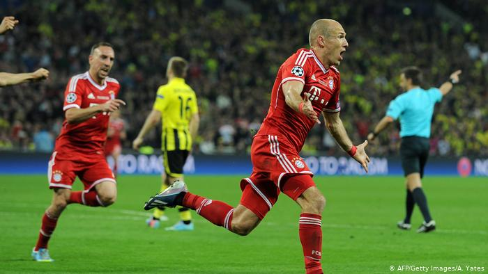 Arjen Robben (AFP / Getty Images / A. Yates)