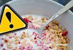 Großer Rückruf von Müsli in Deutschland: Rückstände können zum Koma führen