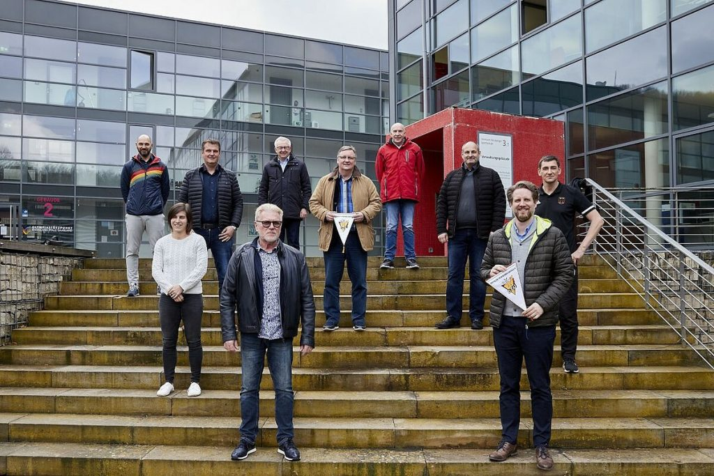 DTU sports director Holger was impressed by the setup and facilities during the visit ©DTU