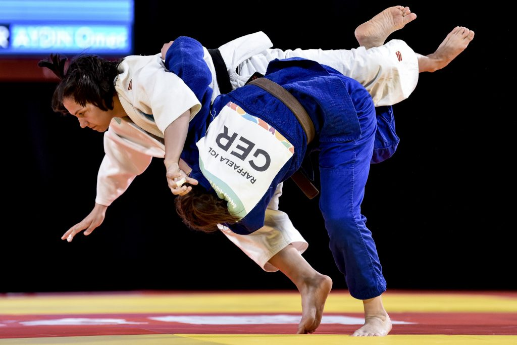 German judo university students can compete in the online kata tournament in May ©Getty Images