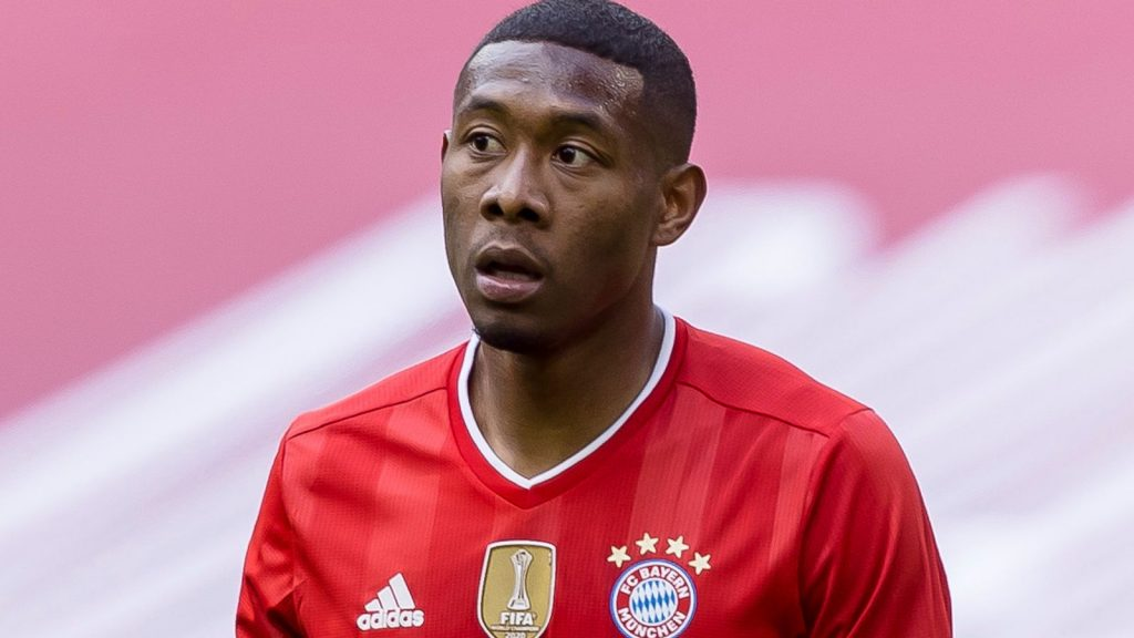 David Alaba will leave Bayern Munich on a free transfer at the end of the season, when his contract runs out