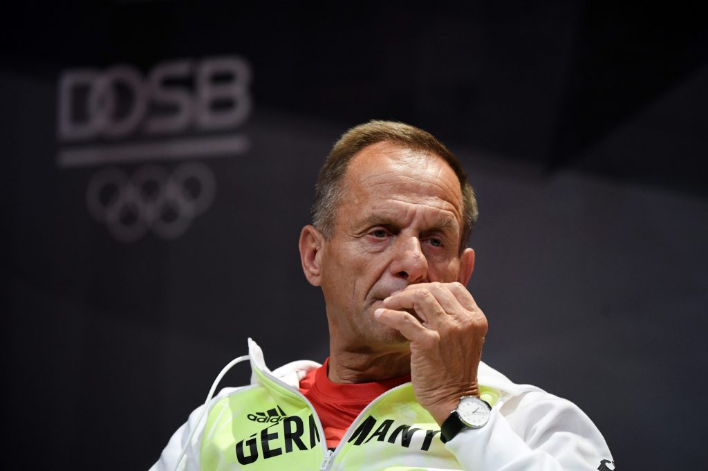 DOSB President Alfons Hörmann is facing calls to resign ©Getty Images