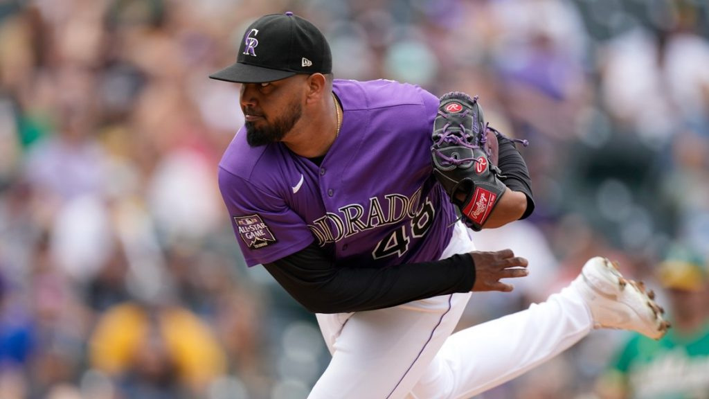 Rockies pitcher Germán Márquez named to first All-Star team